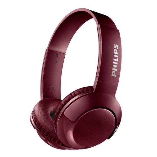 Bluetooth headphones Philips SHB3075RD BASS+, red