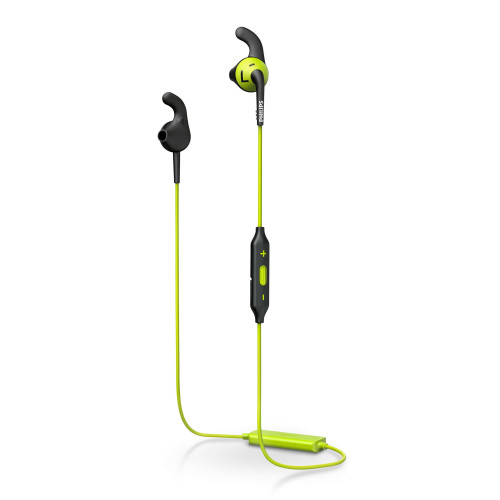 Bluetooth earphones Philips ActionFit SHQ6500CL, green