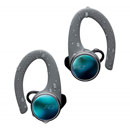 Bluetooth слушалки Plantonics BACKBEAT FIT 3100, grey