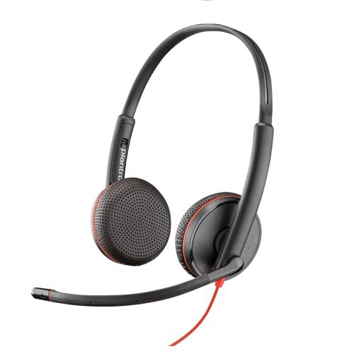 Plantronics Blackwire C3225 USB & 3,5mm Jack Stereo