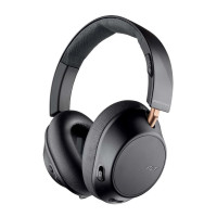 Bluetooth headphones Plantronics BACKBEAT 810, graphite black