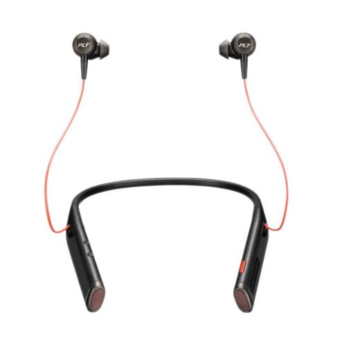 Професионални Bluetooth слушалки Plantronics Voyager 6200 UC  - Черни (USB-А)