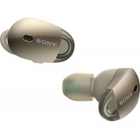 Bluetooth headphones Sony WF-1000X, gold