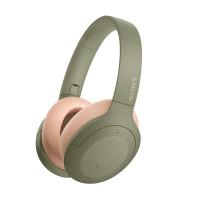 Bluetooth headphones Sony WH-H910N, green