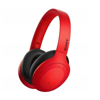 Безжични слушалки Sony WH-H910N, red