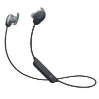 Безжични спортни слушалки Sony WI-SP600N с Noise-Canceling - Черни