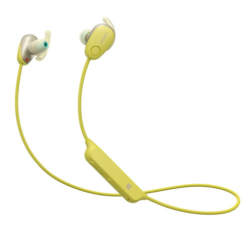 Sony WI-SP600N Wireless sports headphones with Noise-Canceling - Yellow