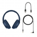 Sony WH-CH710NB Wireless Headphones - Blue (Noise Canceling)
