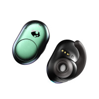 Bluetooth earbuds SkullCandy PUSH Truly Wireless, psychotropical teal