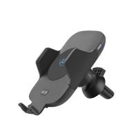 Безжично Qi зарядно устройство Tellur WCCM с автоматична стойка за кола
