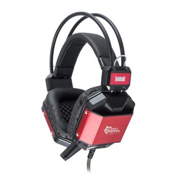 Геймърски слушалки White Shark GH-1646 JAGUAR, red