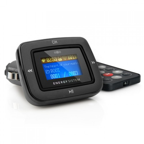 Energy Car MP3 1100 FM Dark Iron