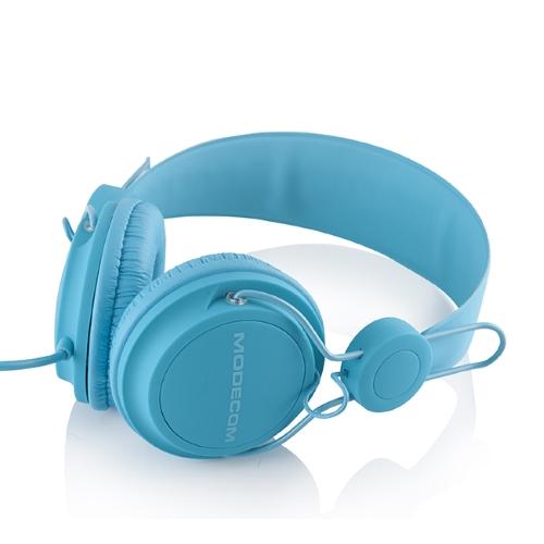 Headphones Modecom MC-400 FRUITY, blue